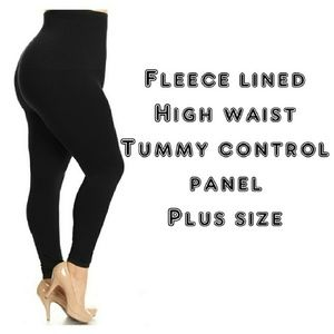 Pants - 1x-3x New Plus Size Black Leggings